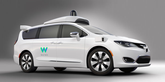 Fiat Waymo Google Car