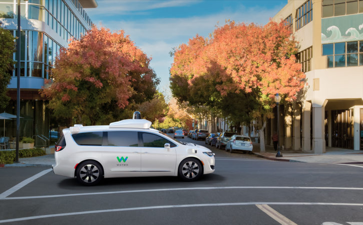 waymo google car autonome