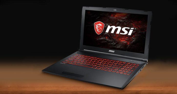 PC portable gamerMSI GL62M