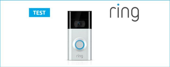 Couverture du test de la sonnette connectée Ring Video Doorbell 2
