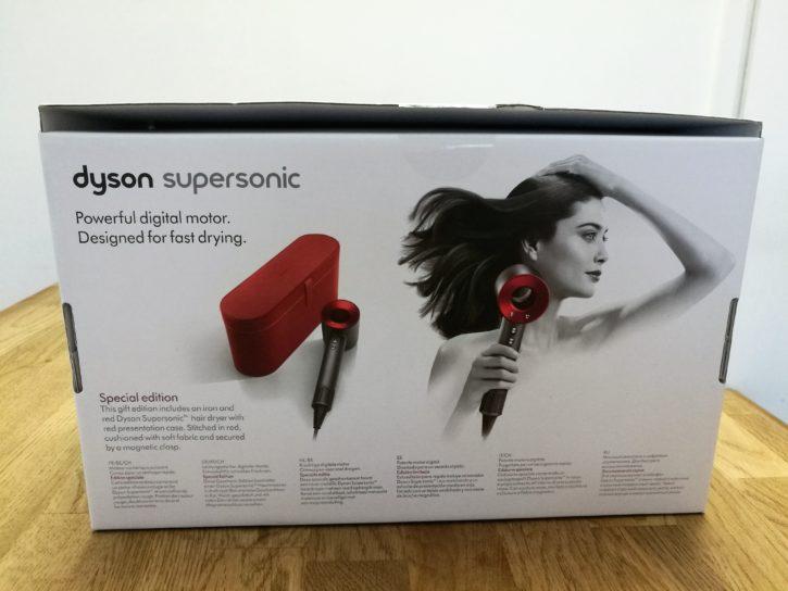 Unboxing du sèche cheveux Dyson Supersonic