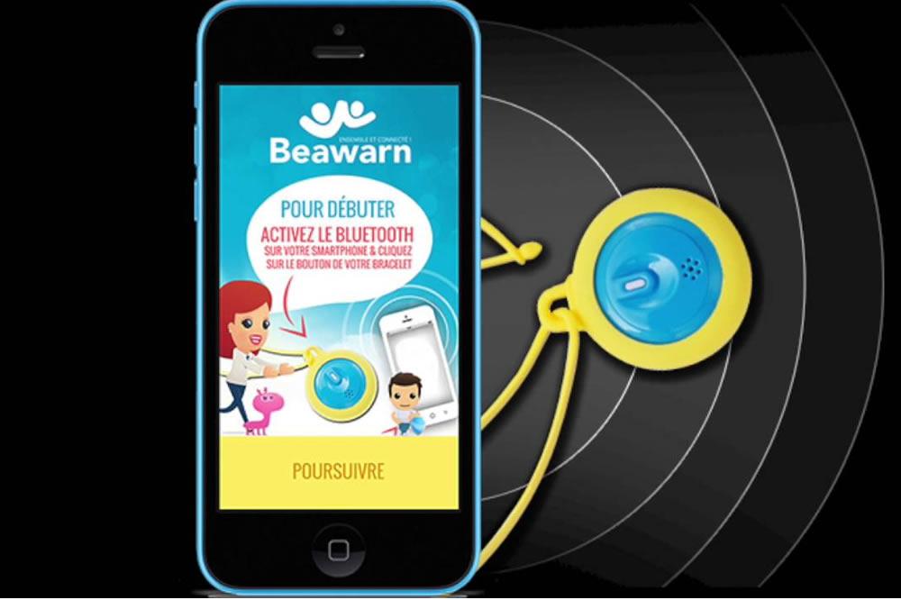 Beawarn bracelet GPS enfants localisation