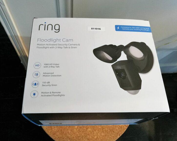 Présentation de la caméra de sécurité Ring Floodlight Cam