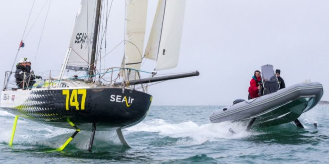 SEAir : on a testé les bateaux volants au-dessus de la Seine