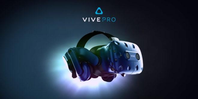 HTC Vive Pro : prix et date de sortie du nouveau casque de réalité virtuelle