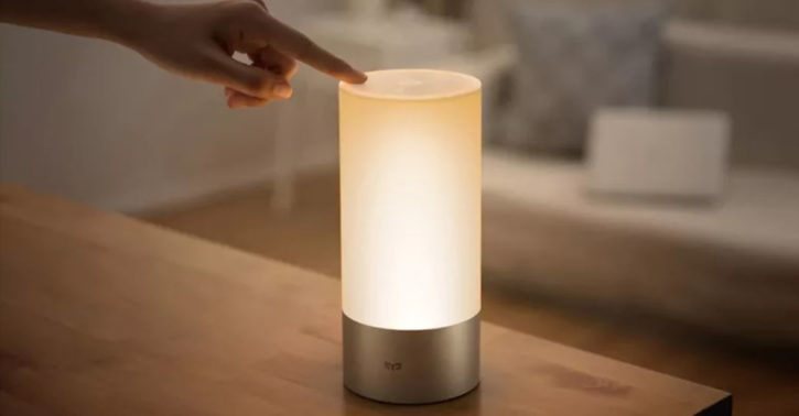 Contrôle lampe connectée Xiaomi Mijia