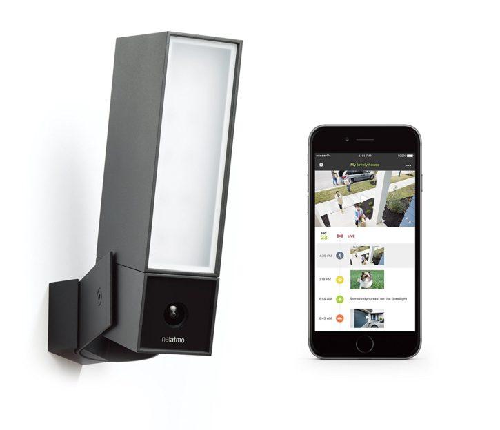 Caméra de sécurité Netatmo Presence