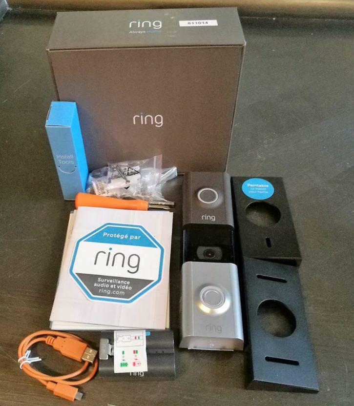Présentation de la sonnette connectée Ring