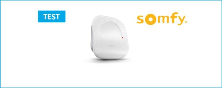 Couverture du thermostat connecté Somfy