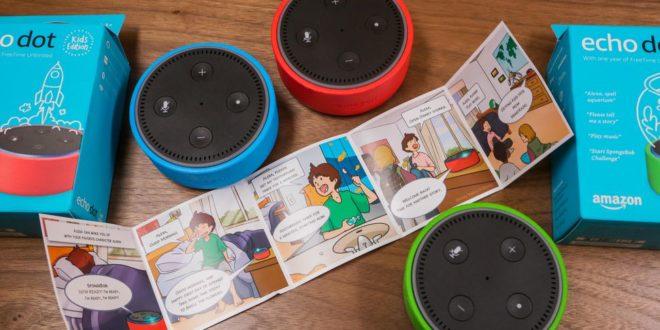 Amazon lance sa nouvelle enceinte destiné aux enfants — Echo Dot Kids