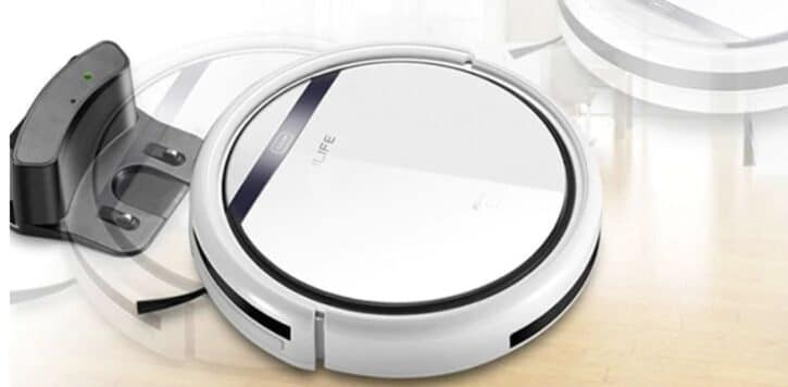 bon plan ilife v5 le robot aspirateur performant. Black Bedroom Furniture Sets. Home Design Ideas