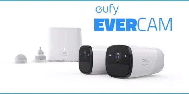 eufy evercam camera connectée pack