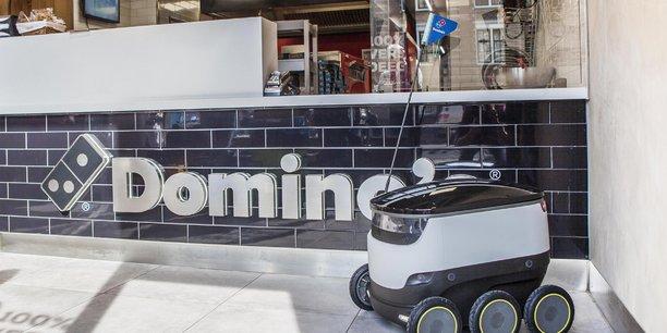 DRU robot domino's
