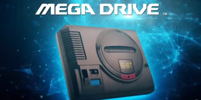 sega annonce la mega drive mini