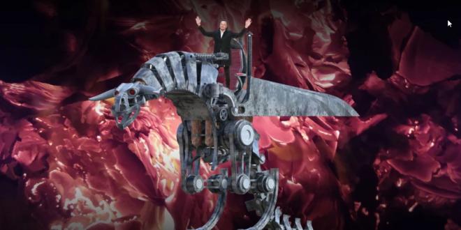 robot dragon elon musk