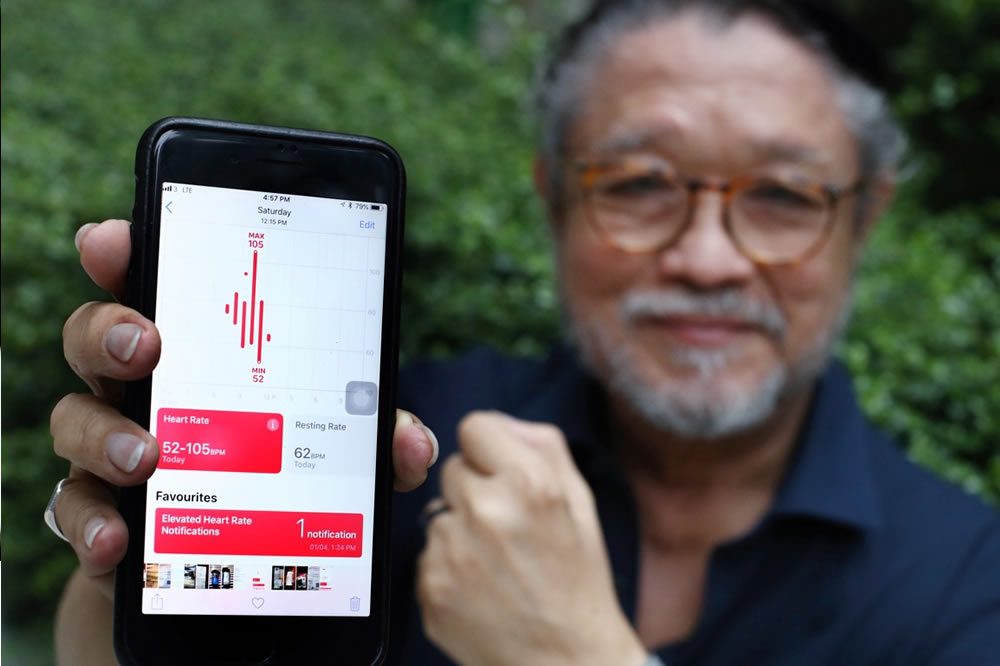 Apple Watch sauve une vie