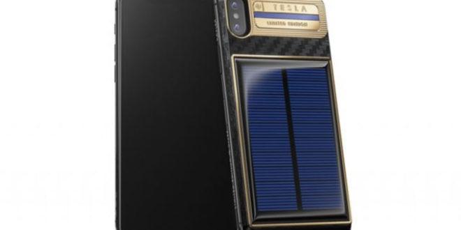 Caviar iPhone X Tesla à 4500 dollars