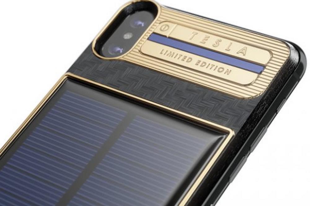 Caviar iPhone X Tesla édition limitée