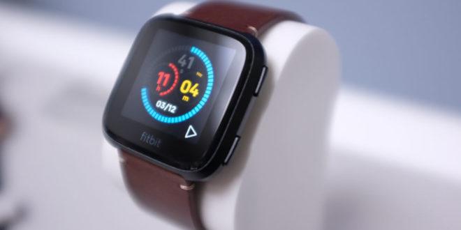 Fitbit suivi de cycle menstruel montre connectée smartwatch