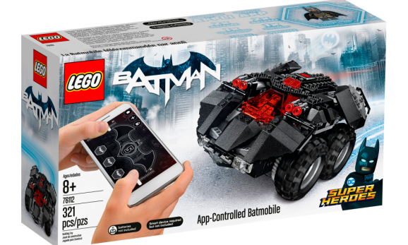 lego powered up batmobile smartphone ios android