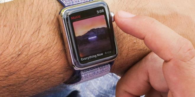 Marché des montres connectées