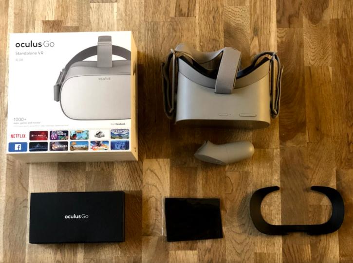 oculus go unboxing