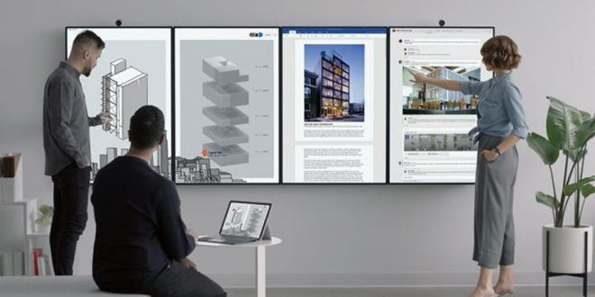 Surface Hub 2 Microsoft Entreprises
