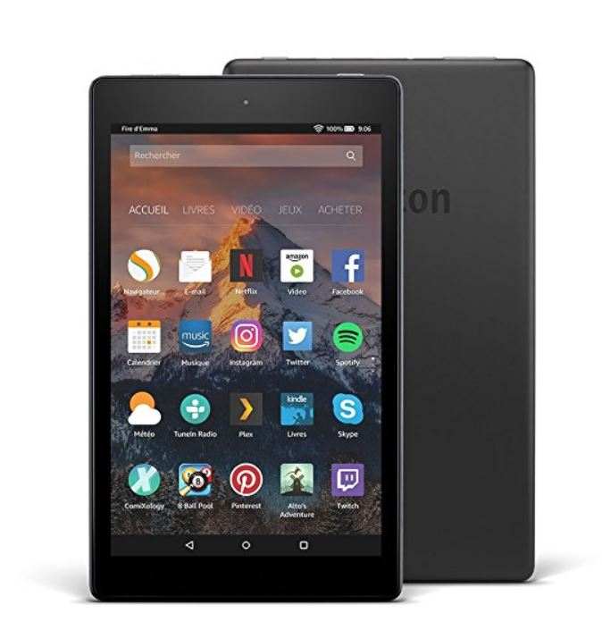 Amazon Echo tablette Fire HD