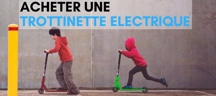 acheter une trottinette electrique