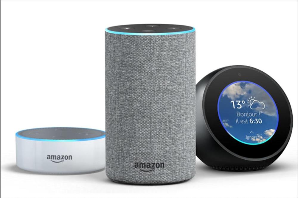 Enceinte connectée Amazon Echo