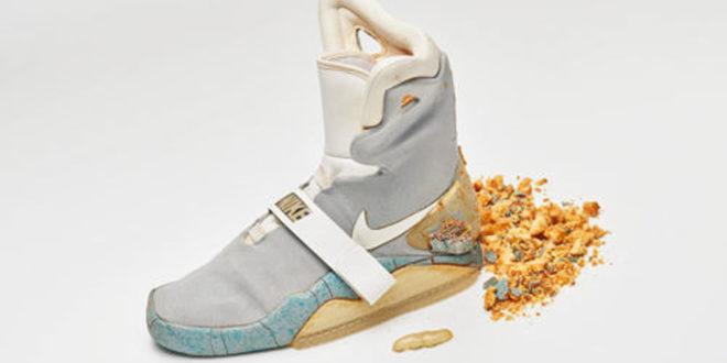Les véritables Nike auto-laçantes de Retour vers le futur 2 sont en vente