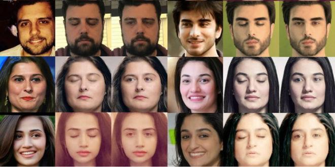 Facebook intelligence artificielle yeux fermés sur les photos