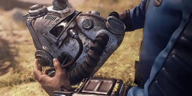 Fallout 76 édition collector avec casque portable
