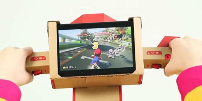Guidon en carton Nintendo Switch pour Mario Kart 8 Deluxe