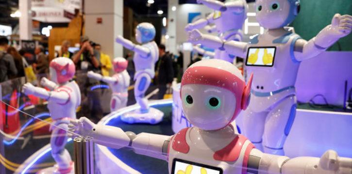 iPal robot professeur pour les enfants