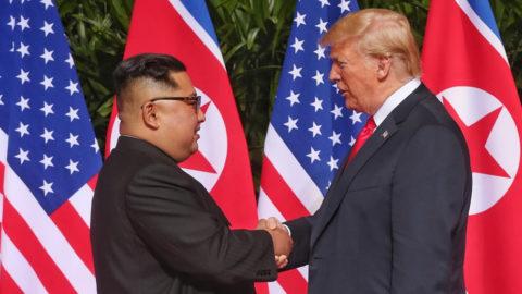 Mini-ventilateur suspect sommet Kim Jung II Trump