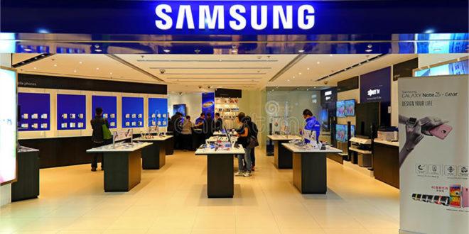 Samsung boutique sur les Champs-Elysées
