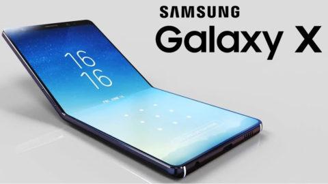 Samsung Galaxy X prix du téléphone pliable