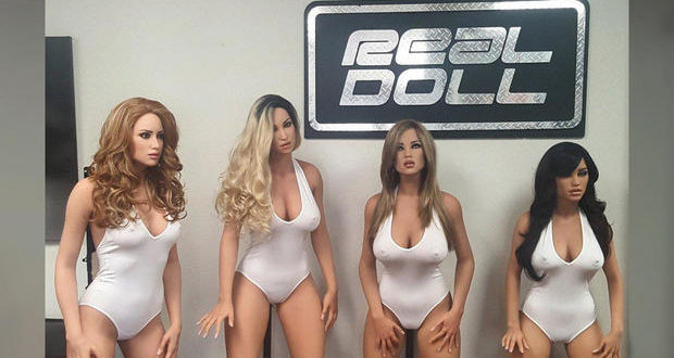 sexe robots real doll