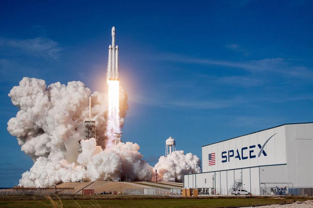 Touristes de l'Espace SpaceX