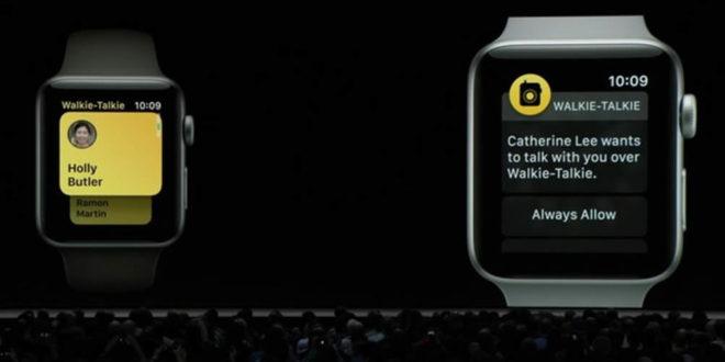 watchOS 5 WWDC Apple Watch