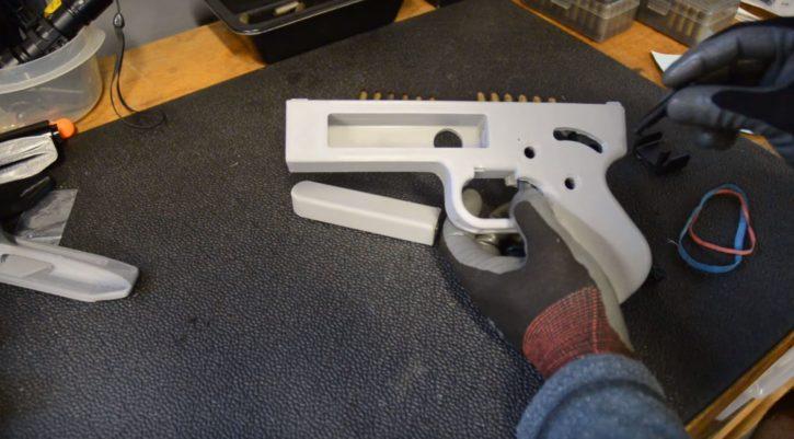 Imprimantes 3D et armes