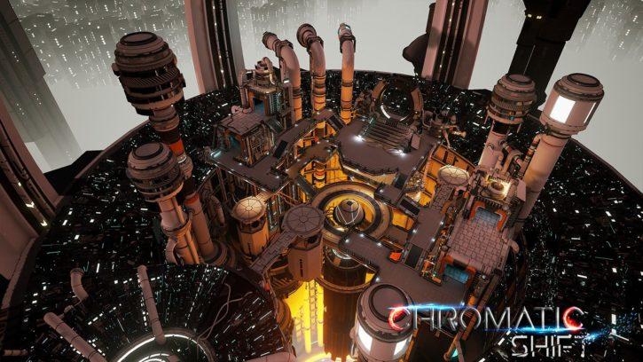 capture d'écran du jeu VR Chromatic Shift