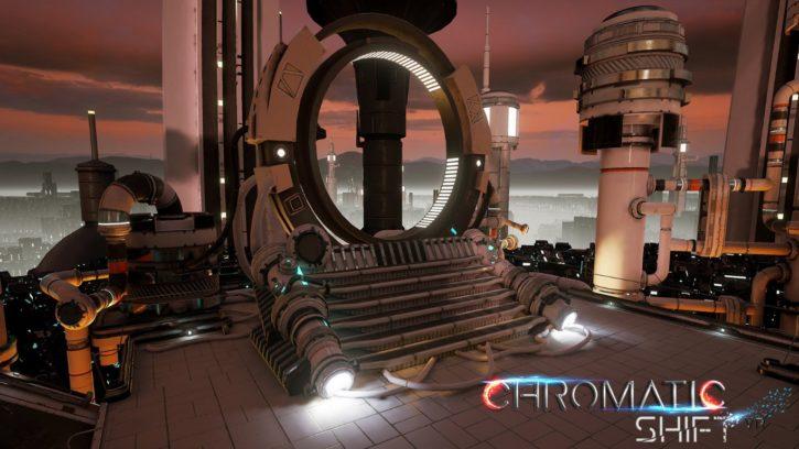 capture d'écran du jeu VR Chromatic Shit