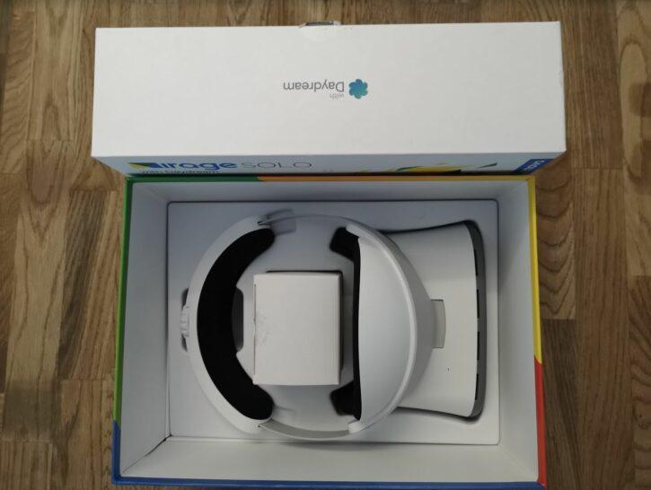 Unboxing du Lenovo Mirage Solo