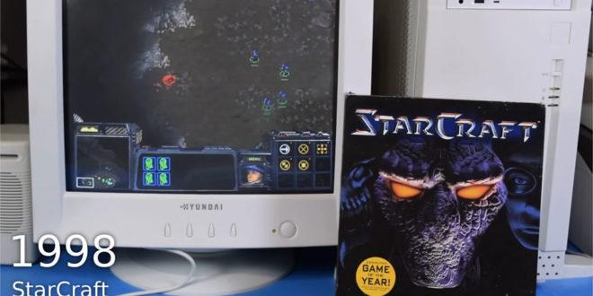 PC Windows 98 retro-gaming