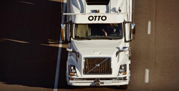 Uber camions autonomes Otto
