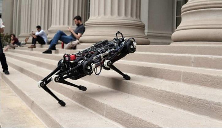 Cheetah 3 robot aveugle du MIT monte les escaliers