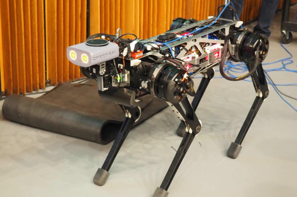 Cheetah 3 robot aveugle monte les escaliers