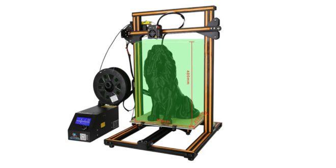 bon plan l 39 imprimante 3d creality pour moins de 315 euros. Black Bedroom Furniture Sets. Home Design Ideas
